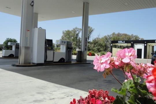Service Station in Arcos de la Frontera
