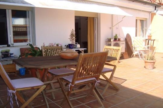 Attic Apartment, Central Ronda, Terrace 38.3m2