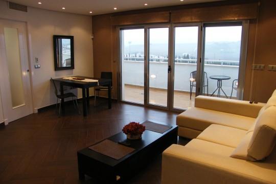 Attic Apartment, Large Terrace, Excellent Views