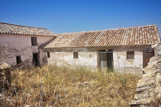 Superb Old Cortijo for Renovation 350m2, 44000m2 Land, Olives
