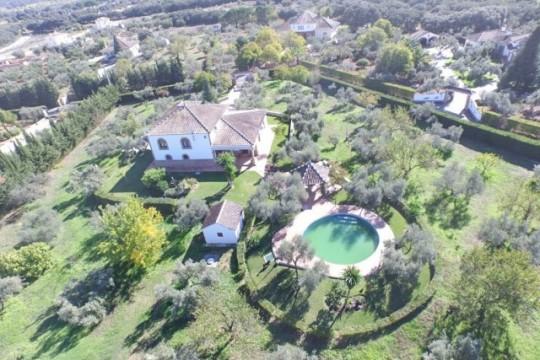 Villa close to Ronda, 4 Beds, Pool, Views